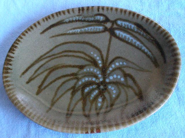 Stoneware Glazed Dish