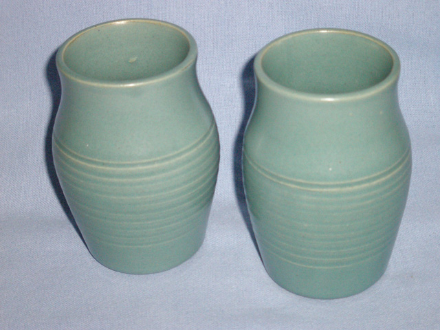 Two Scottish Buchan Stoneware Vases