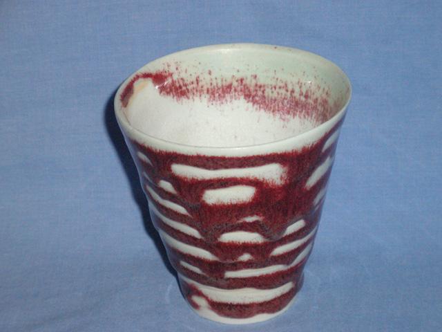 Drip Glaze Studio Pottery Planter