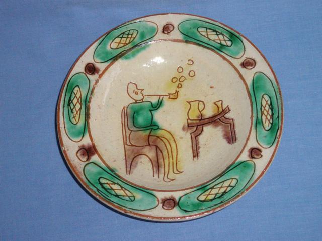 Rare Vintage Studio Pottery Dish - Devon Ware ?
