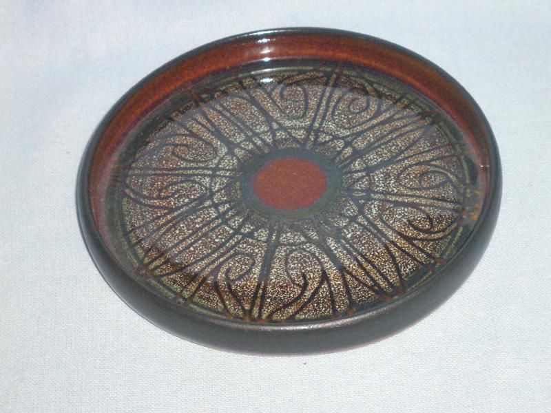 Cornish Celtic Pottery, Newlyn, Medallion Dish