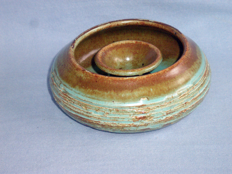 Cornish Leonard Knight Tintagel Studio Pottery Posy Ring