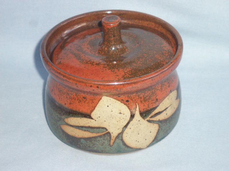 Clive Pearson Hartland Studio Pottery Lidded Pot