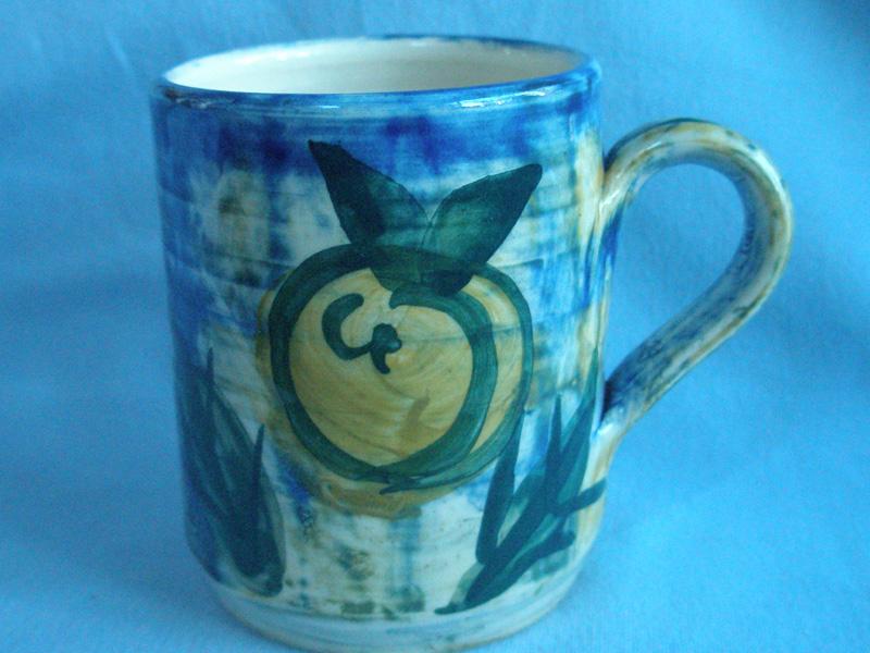 Scottish Crail Studio Pottery Mug