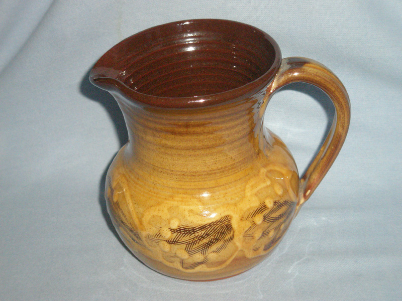 Welsh Tenby Studio Pottery Jug - Anthony & Mary Markes
