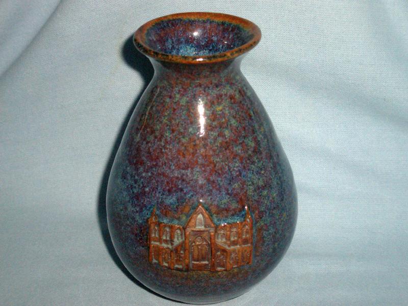 Ned Heywood Chepstow Studio Pottery Vase