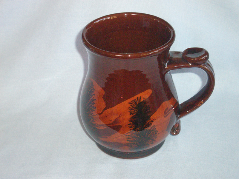 Roger Irving Little Boscastle Camelot Studio Pottery Tankard