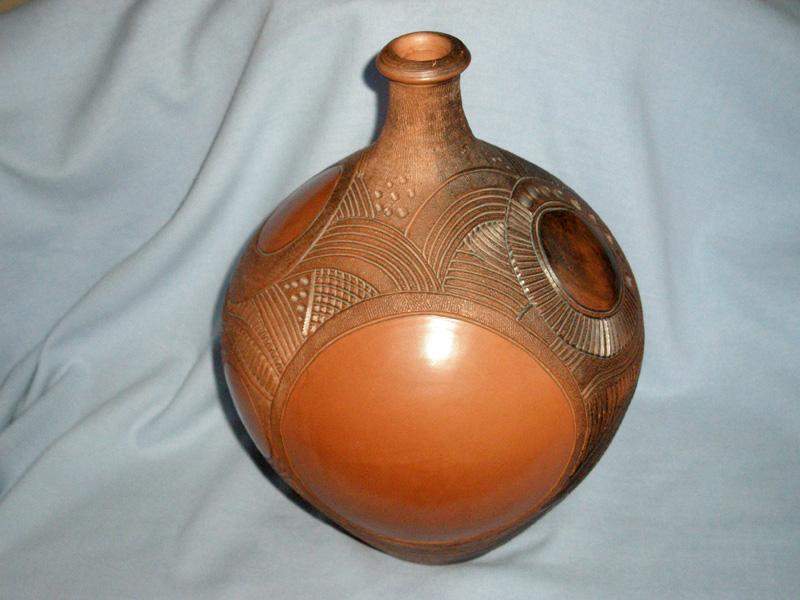 Harry Juniper Bideford Studio Pottery Large Pot Bellied Pot