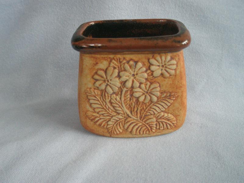 Somerset Quantock Pottery Stoneware Posy Vase