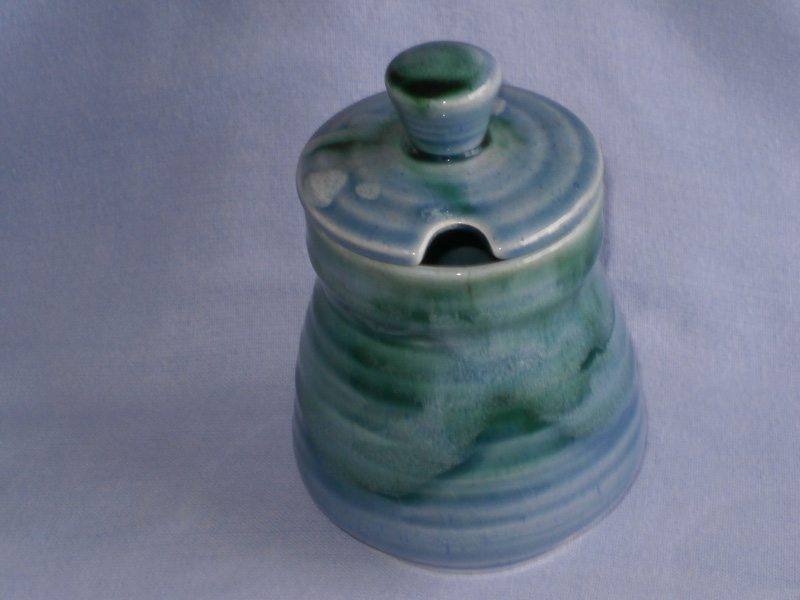 Cornish Lamorna Studio Pottery Preserve Pot A/F