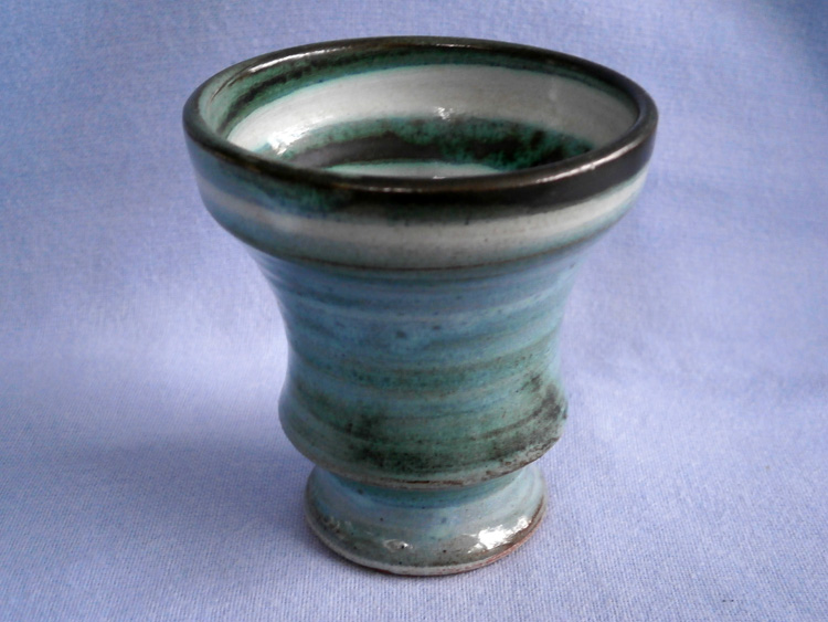Clive Brooker Middlesex Studio Pottery Small Vase