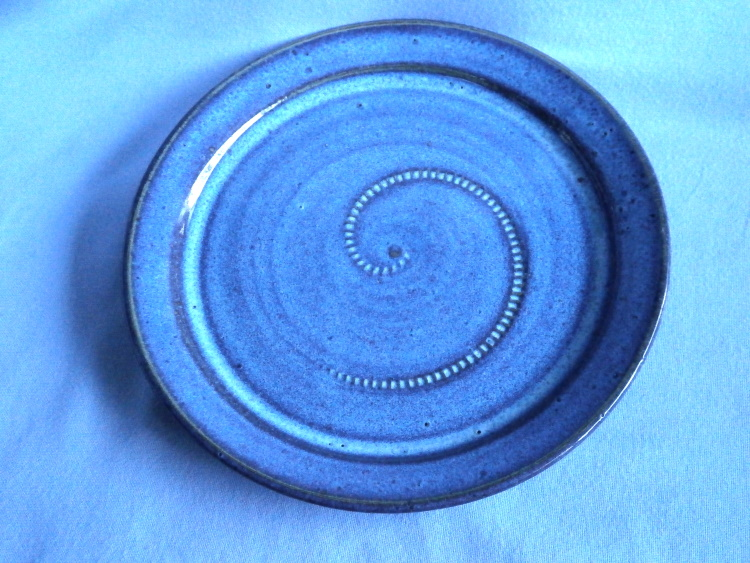 Terri Penswick Cornish Crowan Studio Pottery Plate