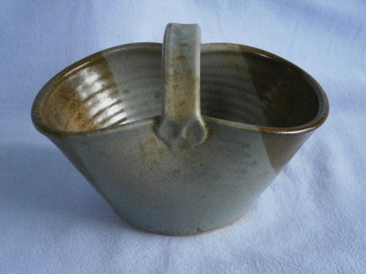 Jean Gunns Jagun Studio Pottery Surrey Stoneware Basket