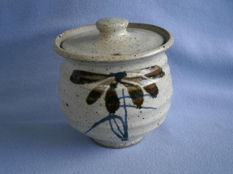 Robert Tinnyunt Stoneware Studio Pottery Preserve Pot